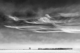 Winter Clouds, North Dakota