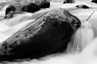 Seven Boulders in River