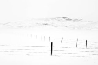 Fence Post in Ground Blizzard