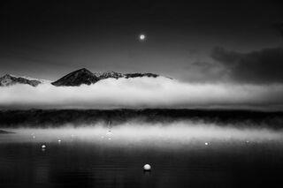 Moon and Sail Boat